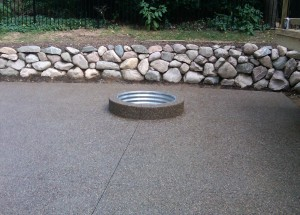 AGG fire pit