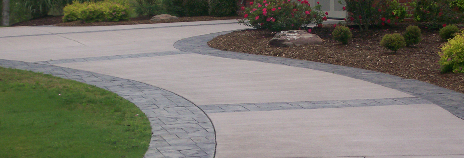 Glenview Stamped Concrete