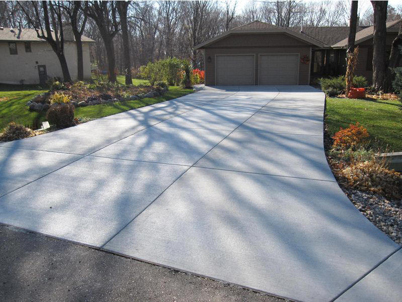 Decorative Cement Slabs : Des plaines concrete driveways decorative